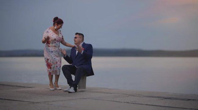Olyan szerelmes dalt írt Bódi Guszti Margónak, hogy bele lehet pirulni - Videó