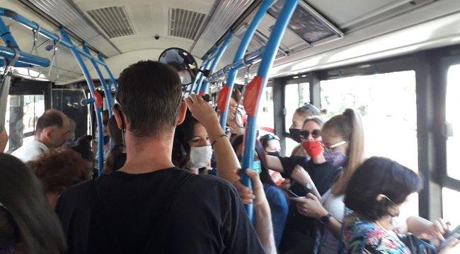 Káosz az 1-es villamos vonalán: Pánik tört ki a pótlóbuszon