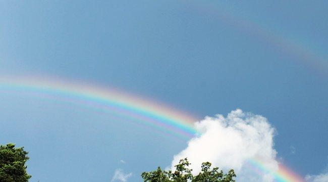 Az ég is gyászolja: szivárvány jött létre a felhők felett a kétgyermekes Grace halálakor