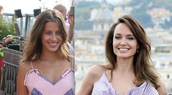 Jolie hasonmásába zúgott bele Brad Pitt