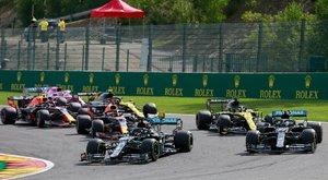 Megint simán nyert Hamilton - brutális baleset is volt Belgiumban