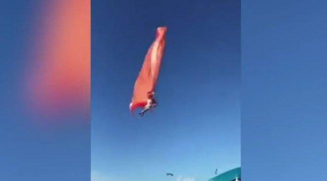 Sokkoló: levegőbe rántott egy háromévest egy óriási sárkány – videó