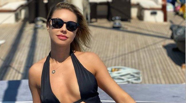 Izmos has, kőkemény popsi: így gyúrja szét magát Luxus Bogi a naplementében – videó