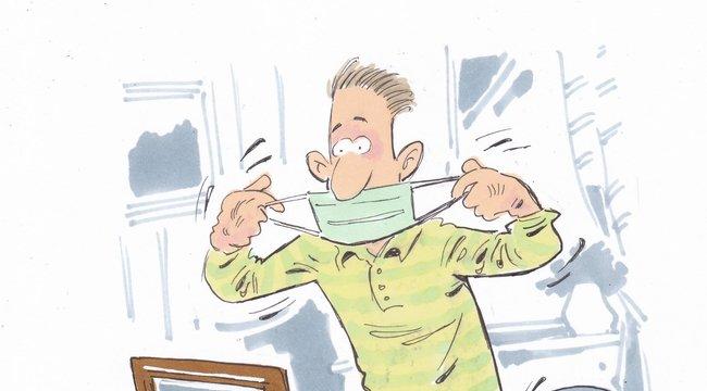 Hatásos védekezés a járvány ellen: Naponta többször cserélje az orvosi maszkot!
