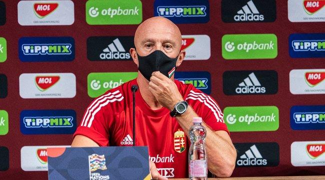 Rossi megtartja a három belső védős rendszert a holnapi magyar-orosz válogatott focimeccsen