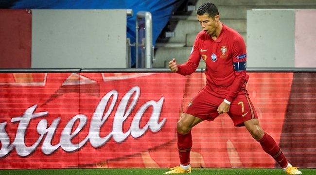 Százados lett Cristiano Ronaldo - Nyolc találatra van a világrekordtól