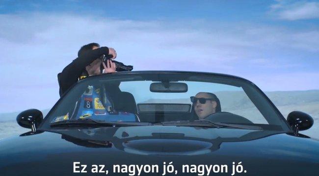 Hullaként figyelmeztet Kovács András Péter: ne telefonáljon vezetés közben – videó