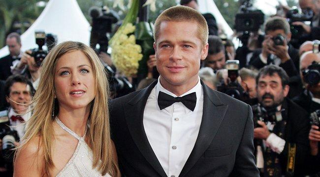 Hoppá! Munka hozta össze újra Brad Pittet és Jennifer Anistont
