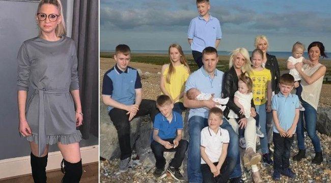 Hogy tehetett ilyet? 13 gyermekét és férjét hagyta magára a tévéből ismert családanya