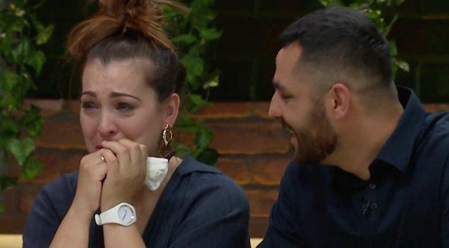 Zokogva omlott össze a TV2 stúdiójában Oláh Gergő felesége: teljesen kikészült – Videó