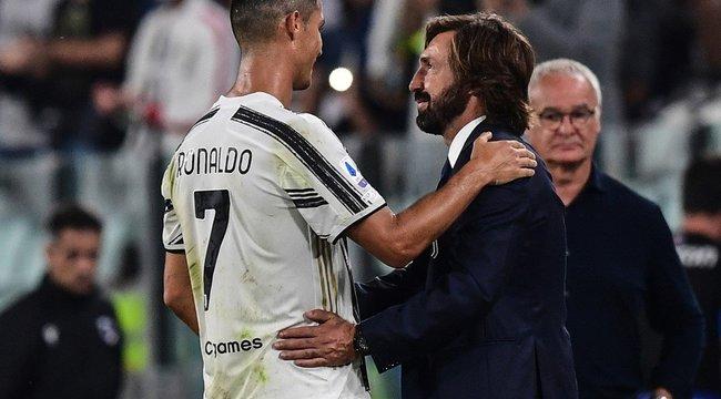 Pirlo tudja, hogy kell bánni a hisztis Cristiano Ronaldóval