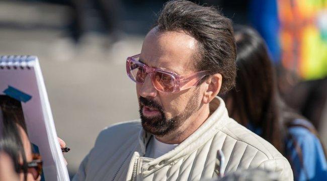 Hoppá! Nicolas Cage Budapesten van – ön már látta?