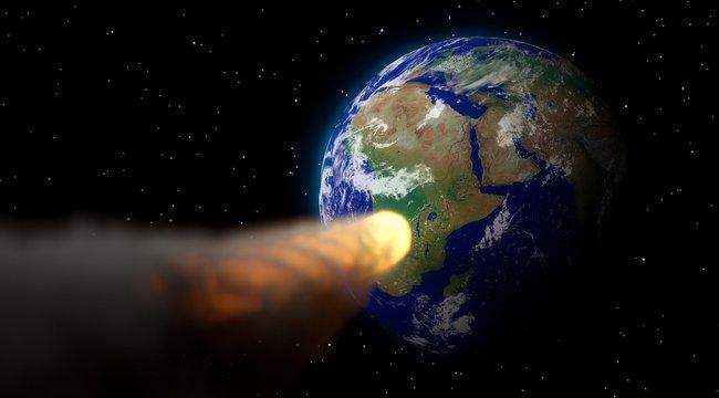 Figyelmeztetést adott ki a NASA: egy aszteroida közelebb került a Földhöz, mint egy időjárási műhold