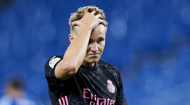 Fellélegezhet a Real Madrid: Odegaard mégsem koronavírusos