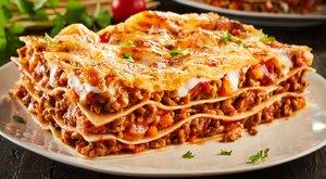 Lasagne bolognai módra a hétvégi menü sztárja