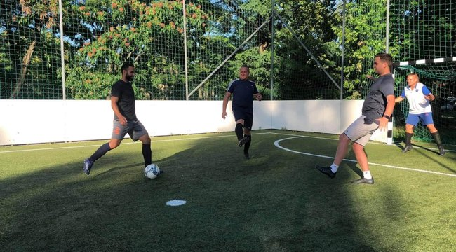 Szilágyi Áron olimpiai bajnok vívó focistaként is megállná a helyét