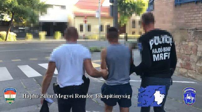 Akciófilmből vették az ötletet a debreceni tinédzserek, hogyan rabolják ki a dohányboltot - videó