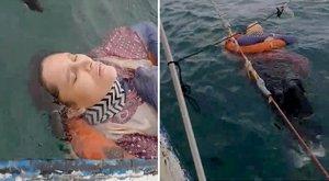 Döbbenet: a nyílt tengeren hánykódva találta rá a két éve eltűnt asszonyra
