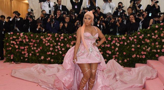 Meglepőképpel jelentette be a dögös Nicki Minaj, hogy megszületett az első gyermeke