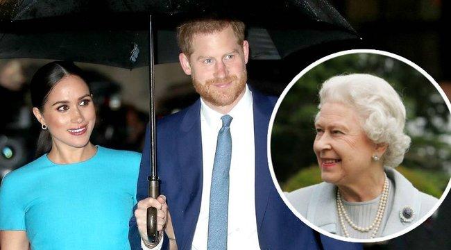 A királynőnek titkos tervei voltak Harry herceggel és feleségével – Afrikára tett fel mindent?