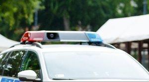 Bedrogozott autóst üldöztek a rendőrök Pécsen