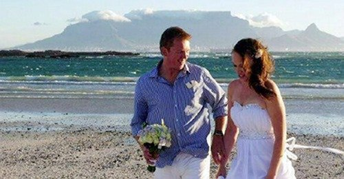 Felfoghatatlan tragédia: a nászúton nézte végig a férj, ahogy a halálba zuhan szerelme