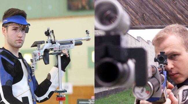 Botrány: Egymásnak esett Sidi Péter és Péni Istvána sportlövők országos bajnokságán