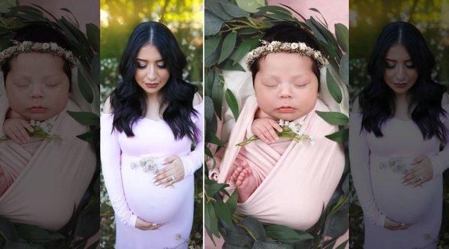 Drámai képek: halott édesanyjával fotózták az újszülött kislányt
