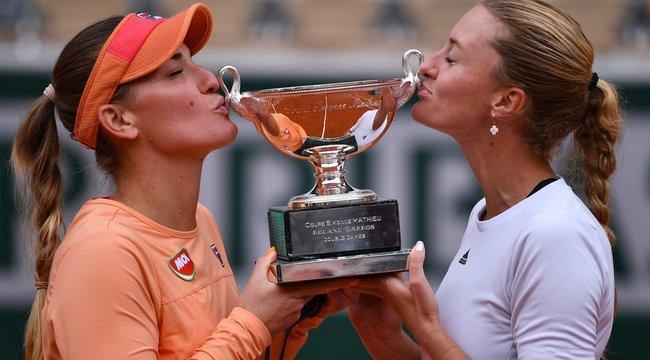 Hatalmas magyar siker: megnyerte a Roland Garrost Babos Tímea és újfent történelmet írt