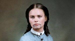 Városi legenda –Elrabolták és rabszolgaként tartották fogva az indiánok a 14 éves lányt: arcát bosszúból tetoválták