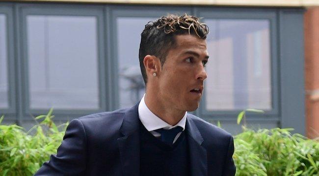Koronavírusos lettCristiano Ronaldo