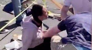 Különösen felkavaró képsorok: Halálra gázolt egy nőt egy parkolni próbáló férfi, a vérző sérültek sokkos állapotban zokogtak a földön