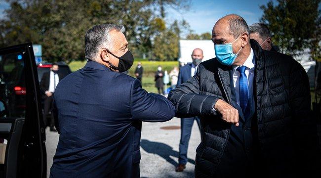 Orbán Viktor: Összekötik a magyar-szlovén villamosenergia-hálózatot - videó