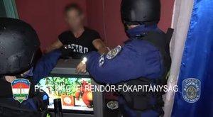 Igazi gengszterek: mesenézés közben, a tévé mögül és a szekrényből rángatták elő a körözött érdi bűnözőket