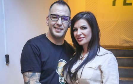 Curtis felesége megmutatta szexi énjét -Új életet kezdett Krisztike