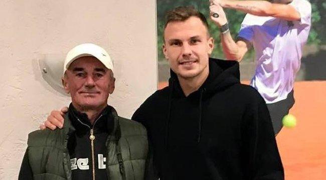 Akciófotót rendelt edzőjétől Fucsovics Marci