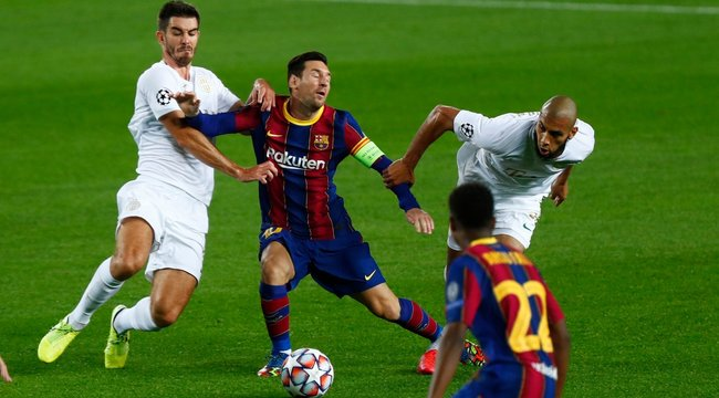 Történelmi gólt lőtt a Fradi a Barcának, de megtréfálni nem sikerült Messiéket