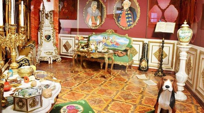Ettől eláll a lélegezte: marcipánból készített szobát képzeletbeli múzsájának az egri művész – fotó