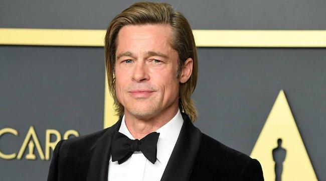 Brad Pitt hangjával kampányol az amerikai elnökjelölt – videó