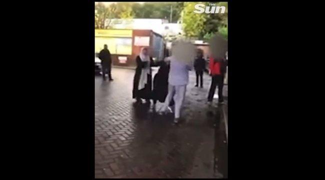 Többen videóra vették, ahogy egy benzinkúton verte egymást három nő, mert egyikük nem vett fel maszkot