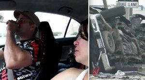 Facebookon élőzte, ahogy piál vezetés közben – percekkel később három ember halálát okozta