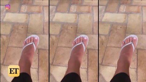 Hoppá! Mégis csak hat lábujja van Kim Kardashiannak?