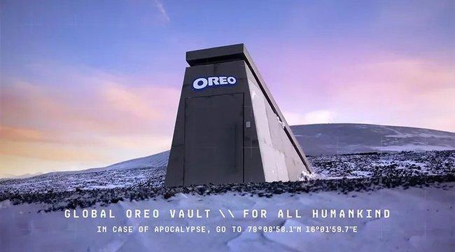 Mindenki nyugodjon le: az Oreo épített egy bunkert a világvégére – videó