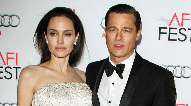 Békülni próbál Angeline Jolie-val Brad Pitt - Másfél órát beszéltek