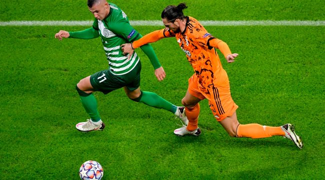 A Juventus kapuját is bevette a Fradi, de a bravúr elmaradt Cristiano Ronaldóék ellen