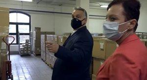 Orbán Viktor ellenőrizte a Kínából érkezett koronavírus-gyógyszert