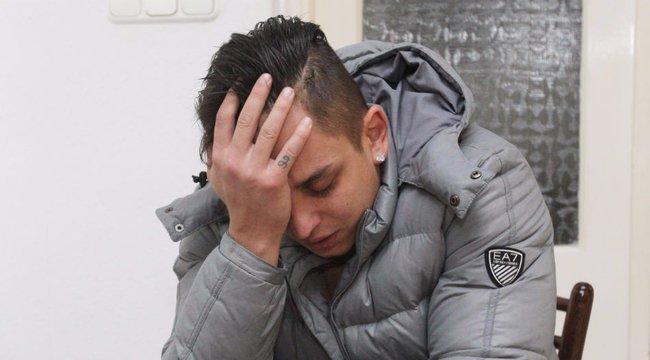 Könnyek közt vallott elvetetett gyermekéről Aurelio