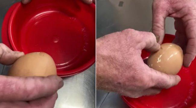 Feltörték a tojást – eldobja az agyát, ha megtudja, mi volt benne! videó