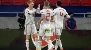 Döntetlen a szerbek ellen