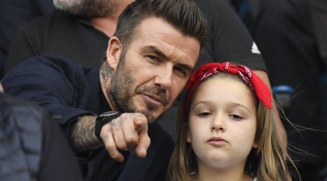 Ha nem olvad el David Beckham és kislánya videóján, hazudik!
